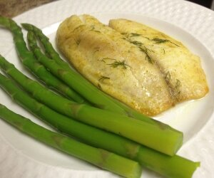 Curry Dill Tilapia Filets