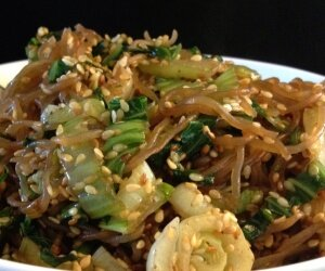 Fried Shirataki Noodles